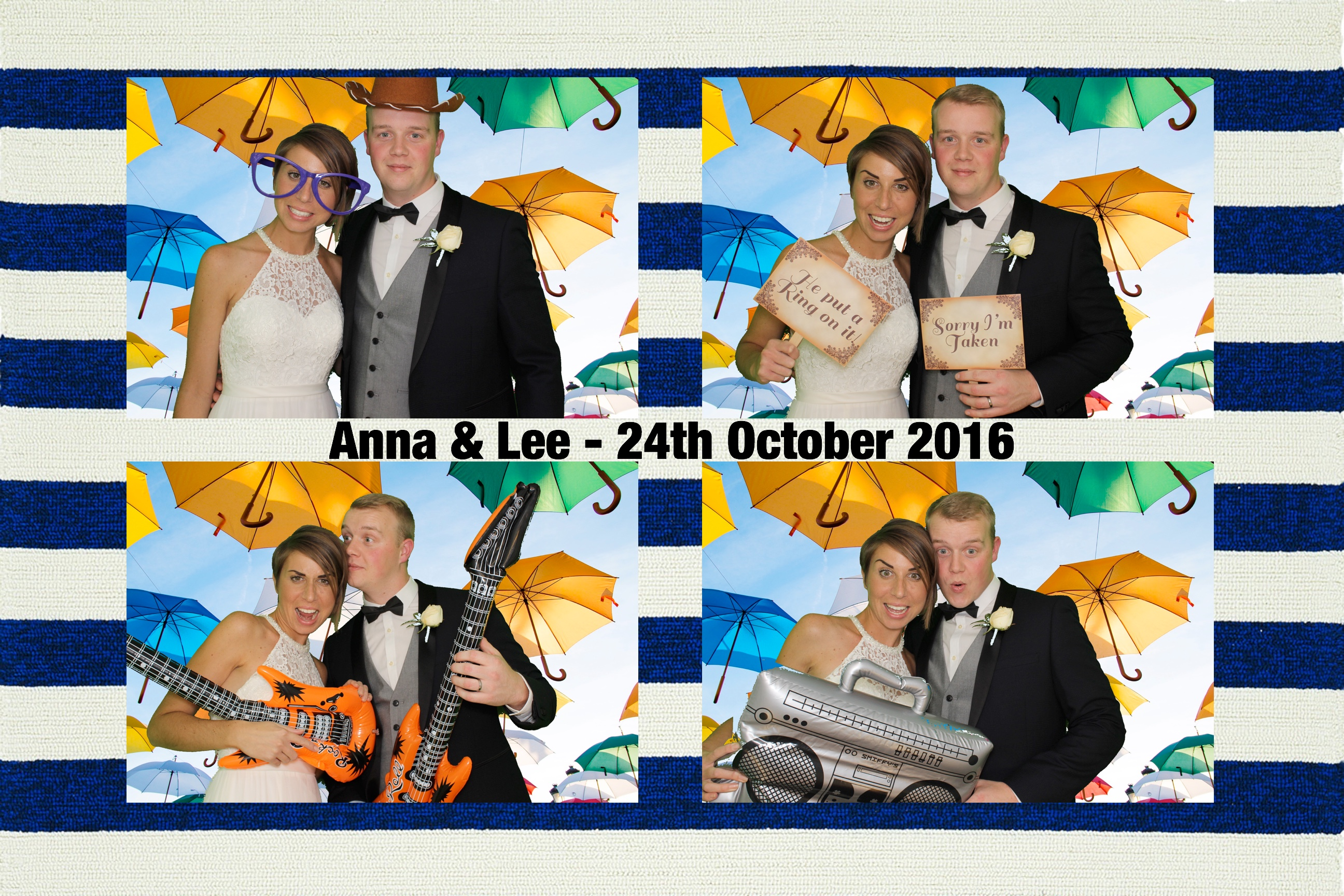 Anna & Lee - Fun Pod Photo Booths