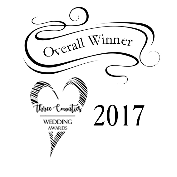 County Winner for Three Counties Wedding Awards 2017