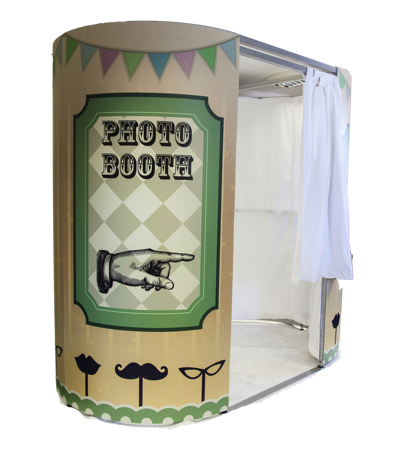 photo booth vintage design